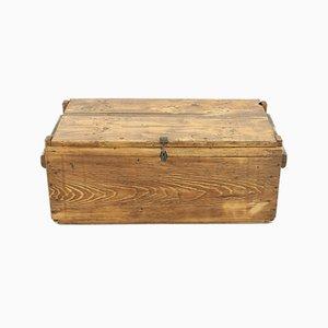 Cajonera vintage pequeña de madera de pino