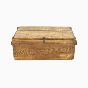 Small Vintage Pinewood Chest