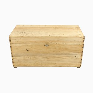 Antique Pinewood Chest