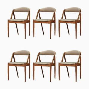 Dining Chairs by Kai Kristiansen, 1960s, Set of 6