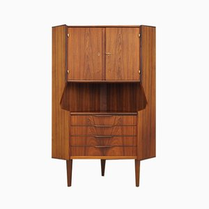 Rosewood Corner Cabinet, 1970s