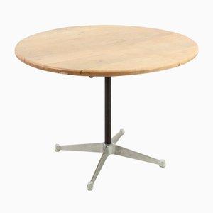 Mesa de comedor Mid-Century redonda