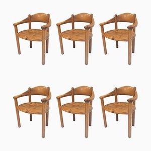 Fauteuils par Rainer Daumiller pour Hirtshals Sawmill, années 60, Set de 6