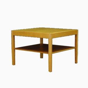 Tavolino da caffè in frassino di Hans J. Wegner per Andreas Tuck, anni '60