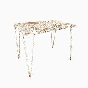 Patio Tisch von Mathieu Matégot, 1950er