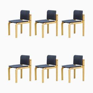 Chaises de Salle à Manger de Fritz Hansen, années 60, Set de 6