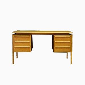 Schreibtisch aus Eschenholz von GV Møbler, 1960er