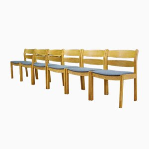 Chaises de Salle à Manger par Kurt Østervig pour FDB, années 60, Set de 5
