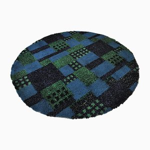 Round Shag Carpet, 1970s