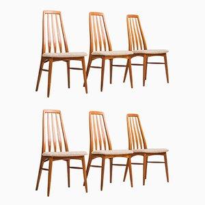 Esszimmerstühle von Niels Koefoed für Koefoeds Møbelfabrik, 1960er, 6er Set