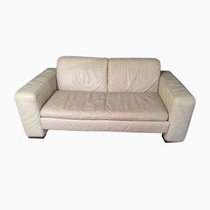 Canapé Vintage en Cuir de Natuzzi