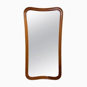 Schwedischer Mid-Century Spiegel mit Rahmen aus Mahagoni