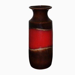 West German Model 239-41 Glazed Ceramic Vase from Scheurich, 1974