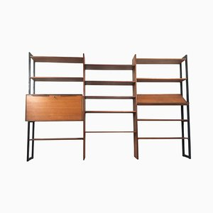 Libreria modulare Mid-Century di Olli Borg per Asko