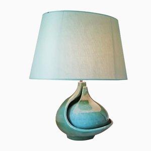 Lámpara de mesa de cerámica de Fred and Andree Stocker, años 60