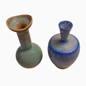 Kleine Vasen von Sven Wejsfelt für Gustavsberg, 1960er, 2er Set