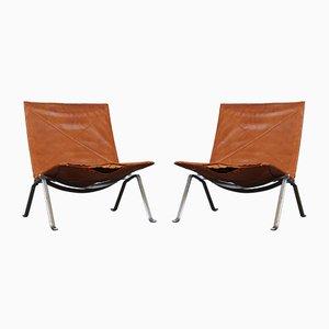 Mid-Century Modell PK22 Sessel von Poul Kjærholm für E. Kold Christensen, 2er Set