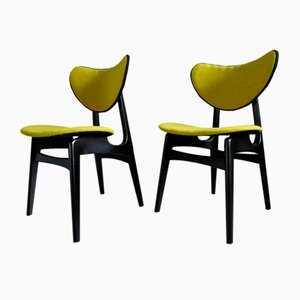 Mid-Century Butterfly Dining Chairs from GPlan, Set of 2