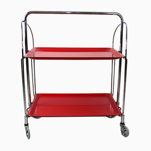 Mid-Century Serving Trolley from Bremshey Solingen
