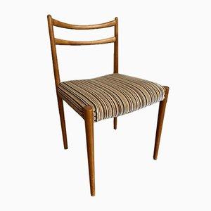 Beistellstuhl aus Holz, 1960er