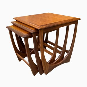 Nesting Tables from G-Plan, 1960s, Set of 3