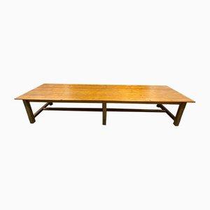 Large Vintage Farm Table, 1940s