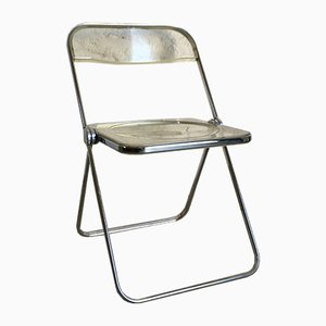 Model Plia Dining Chair by Giancarlo Piretti for Castelli / Anonima Castelli, 1960s