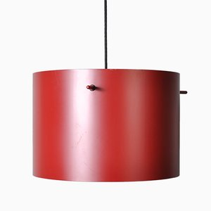 Mid-Century Model FM1954 Pendant Lamps by Knud Friis and Elmar Moltke Nielsen for Lampas, Set of 2