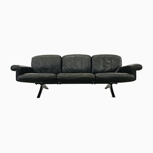 Vintage Dark Brown Leather DS31 3-Seater Sofa from de Sede