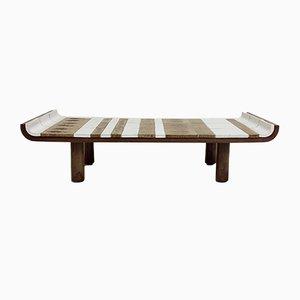 Table Basse Modèle Pagode en Céramique par Roger Capron pour Vallauris, France, 1960s