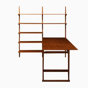 Mid-Century Wall Unit by Poul Cadovius for Cado