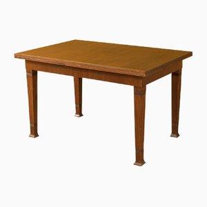Mesa de comedor modernista antigua