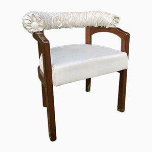Vintage Wooden Armchair, 1980s