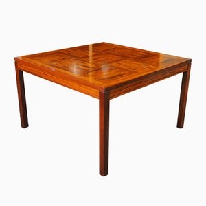 Mid-Century Norwegian Rosewood Coffee Table from Heggen, 1960s