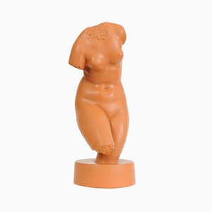 Vintage Ceramic Venus Figurine from KS Bechyne, 1930s