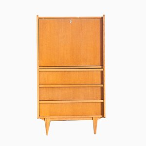French Oak Secretaire, 1960s