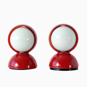 Italian Table Lamps by Vico Magistretti for Artemide, 1980s, Set of 2