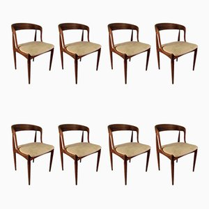Rosewood Dining Chairs by Johannes Andersen for Uldum Møbelfabrik, 1960s, Set of 8