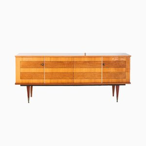 French Wooden Sideboard, 1970s
