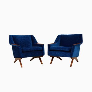 Vintage Sessel von Illum Wikkelsø für Westnofa, 1960er, 2er Set