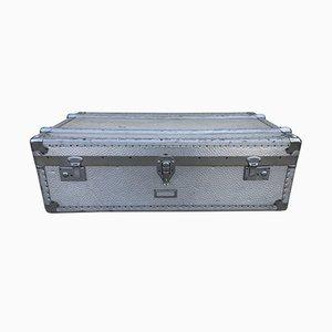 Mid-Century Koffer aus Aluminium, 1950er