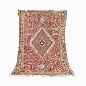 Vintage Middle Eastern Silk Carpet, 1990s