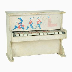 Französisches Spielzeug-Klavier, 1950er