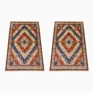 Vintage Turkish Sivas Carpets, 1960s, Set of 2
