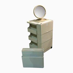 Mid-Century Badezimmer Set von J. Colombo, O. Von Bohr, G. Wick für Kartell, Bieffeplast, Gedy