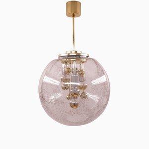 Lampada da soffitto grande vintage di Doria Leuchten