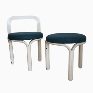 Model 320 Chair and Stool Set by Geoffrey Harcourt for Artifort, 1970s