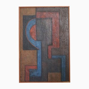 Vintage Abstract Painting by Wilma Middleton