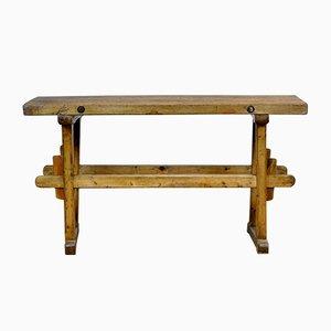 Table de Travail en Chêne, 1930s