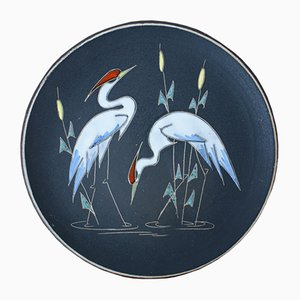 Mid-Century No. 717-2 Decorative Wall Plate from Ruscha, 1960s